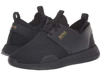 9aba3c80914 HUGO BOSS Titanium Sporty Mesh Sneaker by BOSS Green