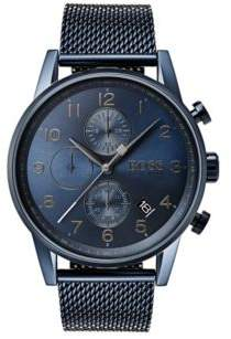BOSS Hugo Navigator, Stainless Steel Chronograph Watch 1513538 One Size Assorted-Pre-Pack
