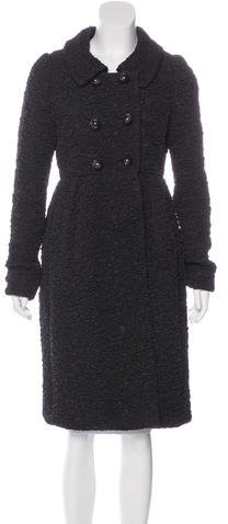 pradaPrada Long Double-Breasted Coat