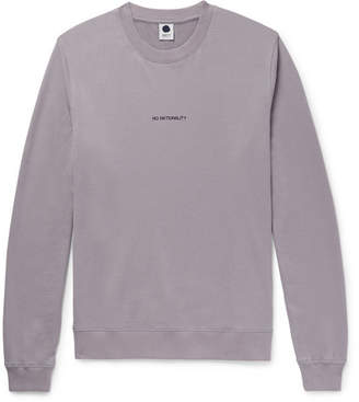 NN07 Printed Loopback Cotton-Jersey Sweatshirt