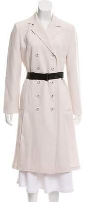 Bottega Veneta Wool Long Coat