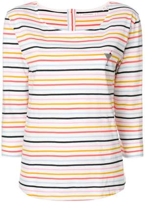 Parker Chinti & striped cocktail sweatshirt