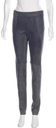 Zero Maria Cornejo Leather Mid-Rise Leggings w/ Tags