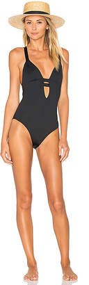 vitamin A Neutra One Piece in Black $190 thestylecure.com