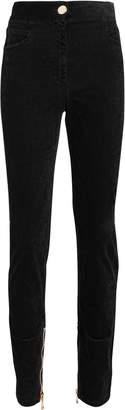 Balmain Stretch Velvet Pants