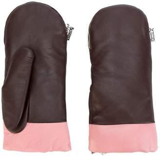 Kenzo zipped mittens
