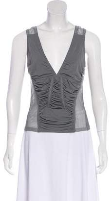Donna Karan Jersey Sleeveless Top