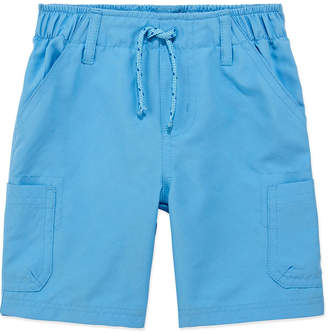 Okie Dokie Boys Splash Short Mid Rise Cargo Short - Toddler