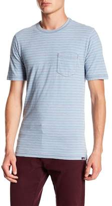 Faherty BRAND Striped Pocket Crew Tee