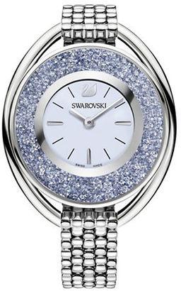Swarovski Crystalline Crystal & Stainless Steel Watch $399 thestylecure.com