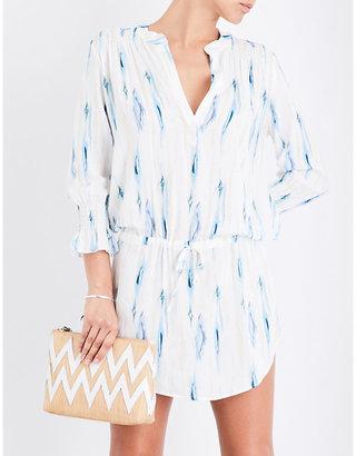 Heidi Klein Ravello woven tunic dress $260 thestylecure.com