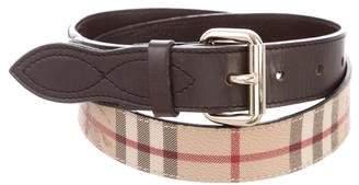 Burberry Horseferry Buckle Belt