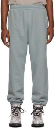 Yeezy Blue Shrunken Sweatpants