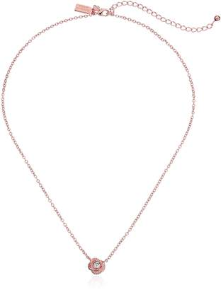 "Kate Spade Infinity and Beyond"" Knot Mini Pendant Necklace, 17"" + 3"" Extender"