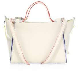 Elena Ghisellini Medium Usonia Leather Satchel