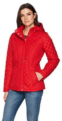 Weatherproof Women's Quilted Hooded Anorak