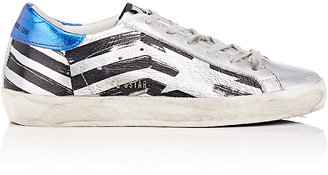 Golden Goose Women's Superstar Leather Sneakers $495 thestylecure.com