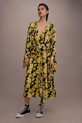 Topshop **Buttercup Wrap Dress by Boutique