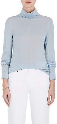 Boon The Shop Women's Cashmere-Silk Turtleneck Top