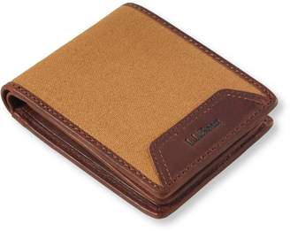 L.L. Bean L.L.Bean Field Canvas Wallet