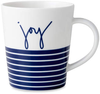 Royal Doulton Ellen DeGeneres Joy Mug - Blue Stripe