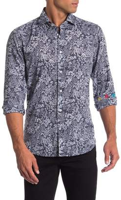 Ganesh Floral Print Regular Fit Shirt