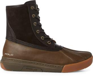Ralph Lauren Declan Leather Duck Boot