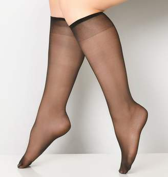 Avenue Daysheer Knee Highs with Spandex