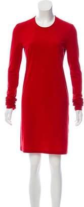 Acne Studios Long Sleeve Mini Dress