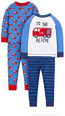 Mothercare Boy's 2 Pack Pyjama Sets,(Manufacturer Size: 86 cm)