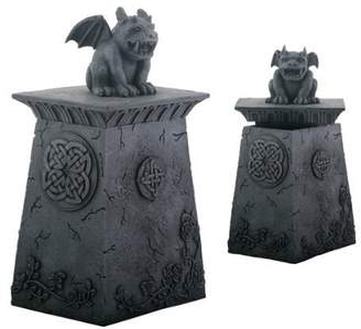 Summit Dark Smiling Gargoyle Sitting Box