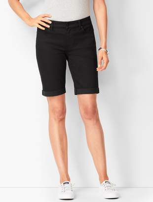 Talbots Girlfriend Jean Shorts - Black