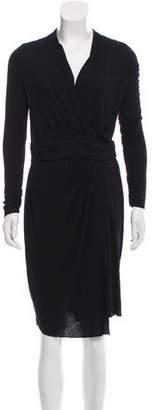 AllSaints Long Sleeve Knee-Length Dress