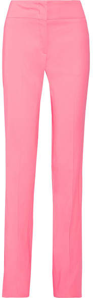 Emilio Pucci - Stretch-crepe Straight-leg Pants - Pink