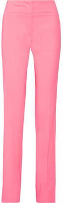 Emilio Pucci - Stretch-crepe Straight-leg Pants - Pink $990 thestylecure.com