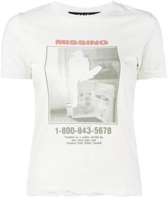 Ksubi Missing print short sleeve t-shirt