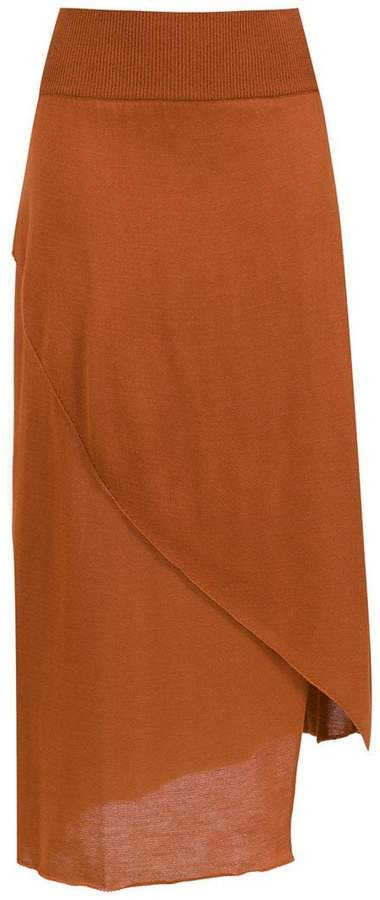 Mara Mac knitted midi skirt