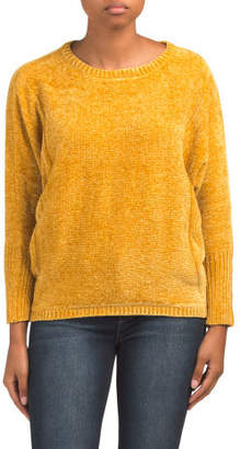 Chenille Dolman Sleeve Sweater