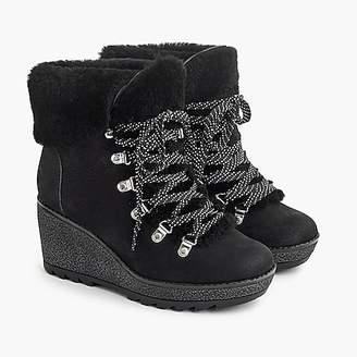 J.Crew Nordic wedge boots