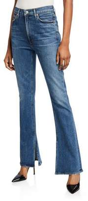 Citizens of Humanity Georgia High-Rise Boot-Cut Jeans