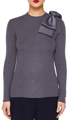 Ted Baker Bow-Trimmed Sweater
