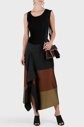 Zero Maria Cornejo Ero Ruffle Skirt