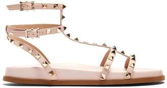 Valentino Submerge Rockstud leather sandals