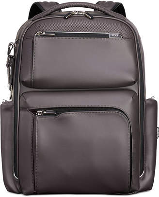 Tumi Men's Arrive Bradley Leather Backpack