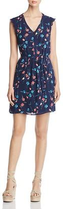 Daniel Rainn Floral Print V-Neck Dress $110 thestylecure.com