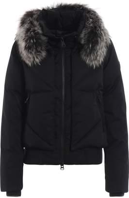 Colmar Fur Detail Hooded Down Jacket