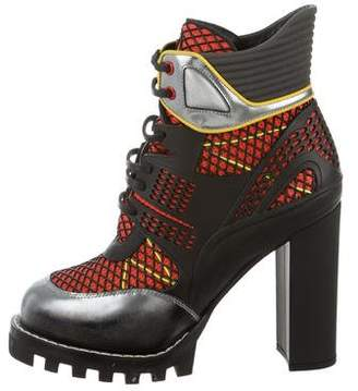 Louis Vuitton Digital Gate Leather Ankle Boots