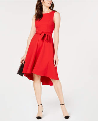 INC International Concepts I.n.c. Seamed Bodice High-Low Dress