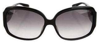 Diane von Furstenberg Oversize Tinted Sunglasses
