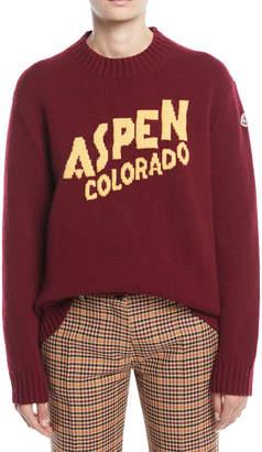 Moncler Aspen, Colorado Pullover Sweater